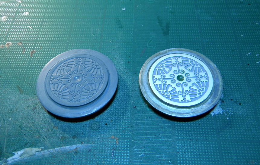 Custom Disk of Tzeentch Part II – Molding & First Cast