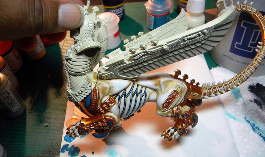 Tomb King Necrosphinx – Phase II continues!