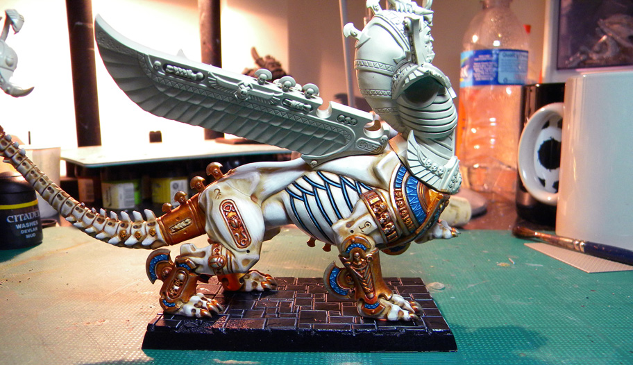 Tomb King Necrosphinx – Phase II Complete!