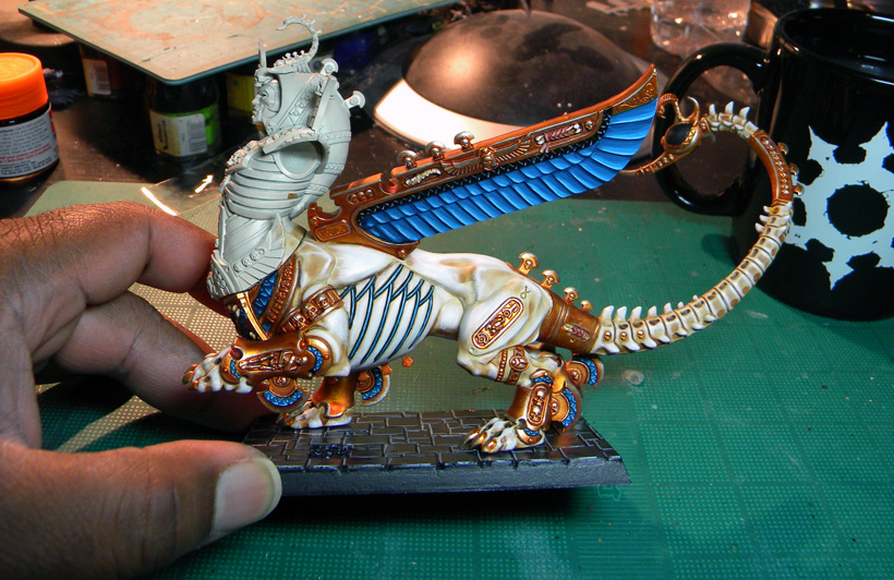 Tomb King Necrosphinx – Phase III