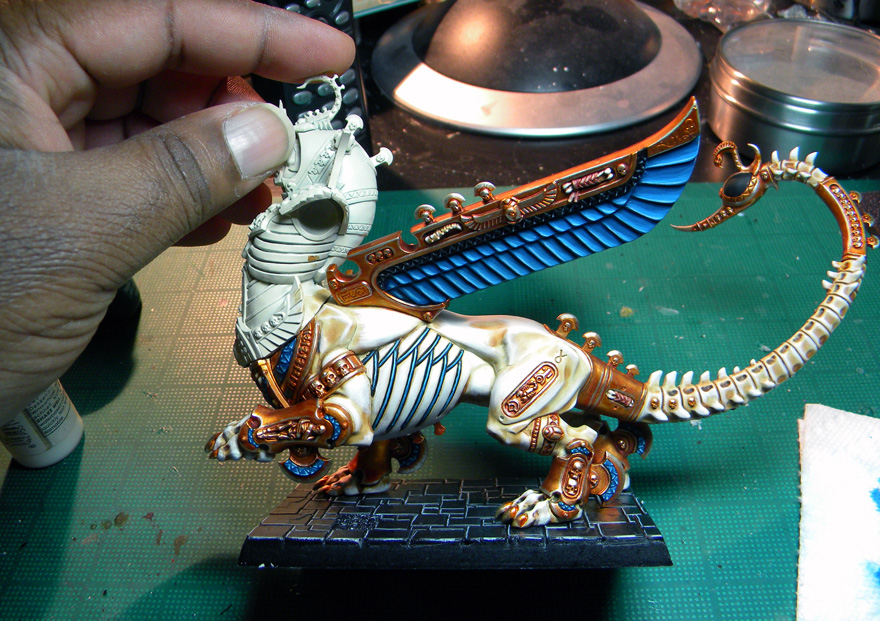 Tomb King Necrosphinx – Phase III Complete!