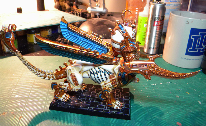 Tomb King Necrosphinx – Complete