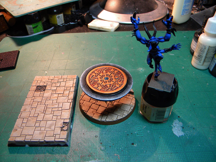 Hobby Project – Herald on Disk/Chariot